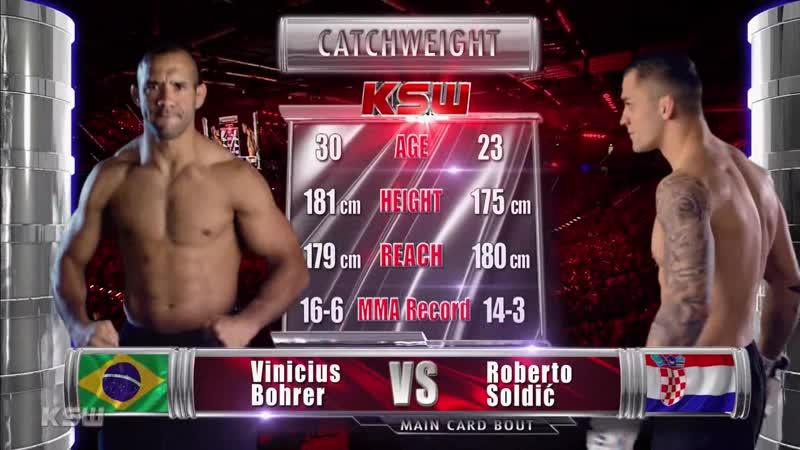 Roberto Soldić vs. Vinicius Bohrer [01.12.2018 KSW 46]
