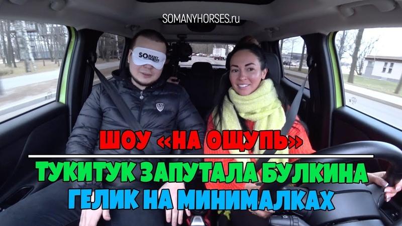Шоу «На ощупь» Тукитук запутала Булкина. Гелик на минималках Somanyhorses.ru