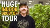 The Most Weed I've Ever Seen! MASSIVE Grow Op Tour