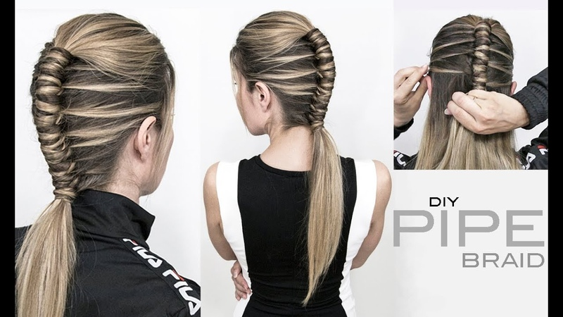 Pipe Braid DIY Single Infinity Braid EASY