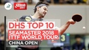 DHS ITTF Top 10 - 2018 China Open