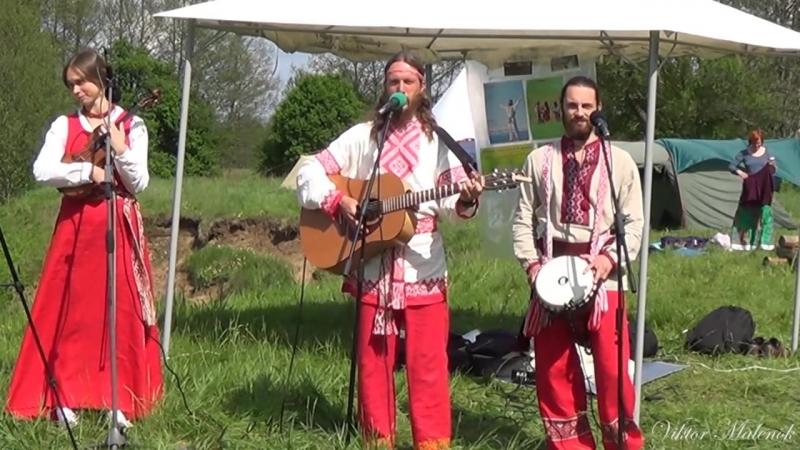 Светозар и группа Аурамира. Концерт на фестивале Солнечный круг Минск май 2015