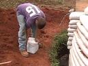 Flexible Form Rammed Earth Construction Earthbag Construction Part 1