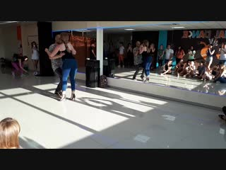 Vyacheslav Yagovdik and Anna Gura Sochi 2018 kizomba dance