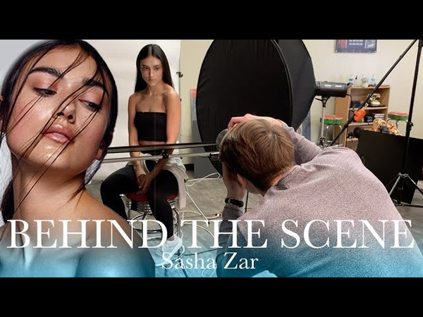 BEHIND THE SCENES OF BEAUTY PHOTOSHOOT