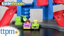 Little People Take Turns Skyway from Fisher Price