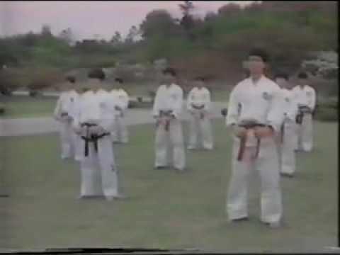 Taekwondo..태권도. ITF1 .Gyp 1 with General Choi Hong Hi.