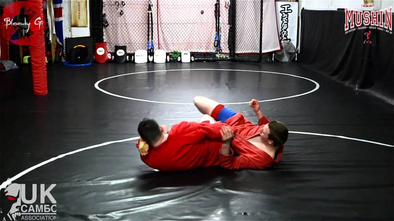 UK Sambo Association | Rolling Kneebar |