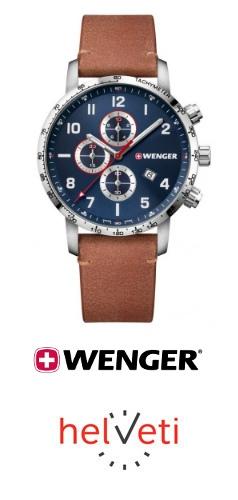 Soutěž o hodinky Wenger Attitude Chrono 01.1543.108