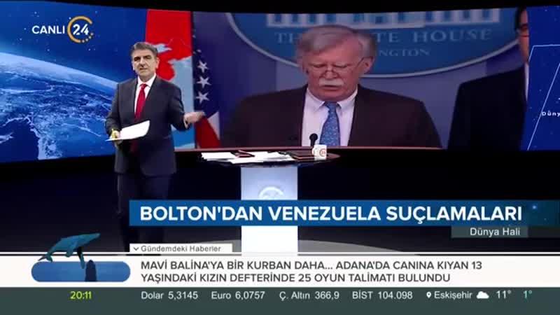 Selim Atalay ile Dünya Hali (29.01.2019)