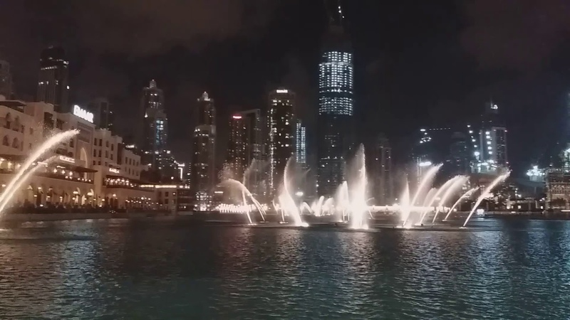 Breathtaking fountain Dubai\ Что по в Дубае