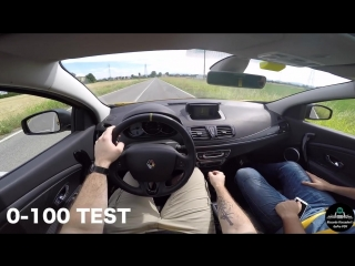 Renault Megane RS Cup 2.0 Turbo 300hp - POWER MOTIVE Exhaust [RAW POV] 0-100, BR