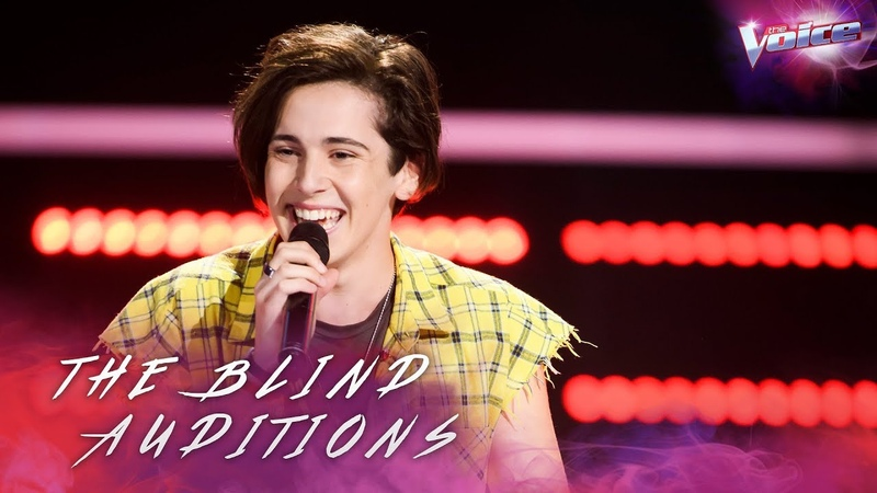 Blind Audition: Aydan Calafiore sings Despacito | The Voice Australia 2018