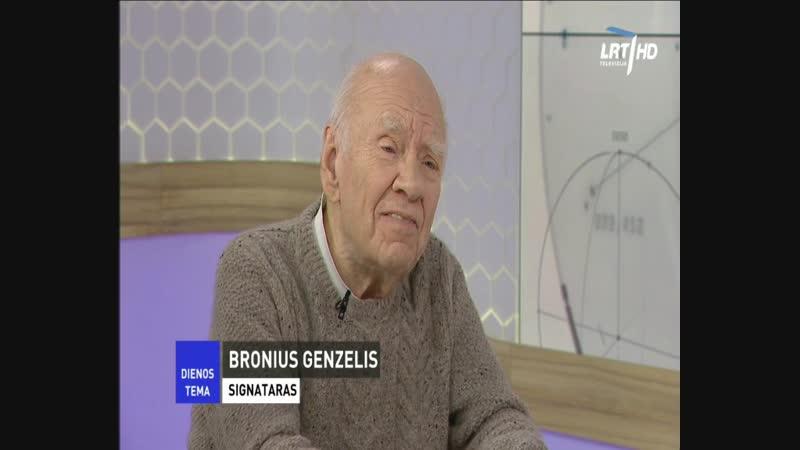 Signataras B. Genzelis teigia, kad nėra jokios nepriklausomybės, kurios be kita ko, daugelis žmonių nei tikėjosi, nei norėjo. Tu