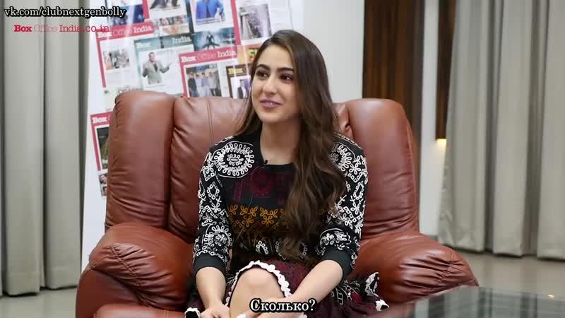 What would Sara do _ Fun Round _ Sara Ali Khan _ Exclusive_с русс.суб