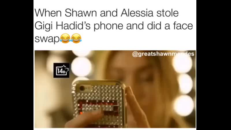Shawn Mendes×alessia cara face swap