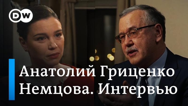 Кандидат в президенты Украины Гриценко Меня учили как военного воевать погибать убивать