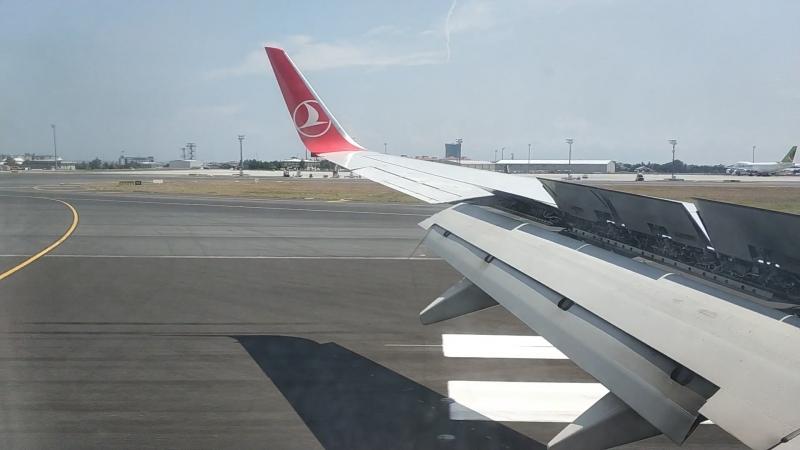 Istanbul(Ataturk),Landing