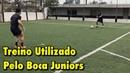 Exercício utilizado pelo C.A. Boca Juniors - Treino de Futebol