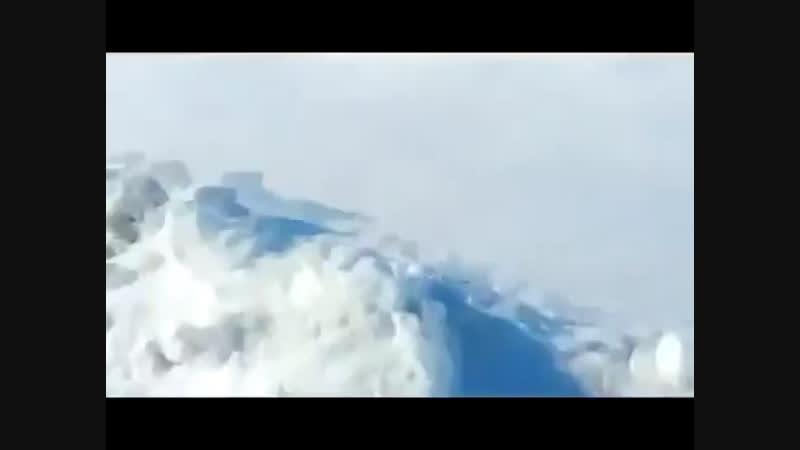 Ледяной метеорит из газа...