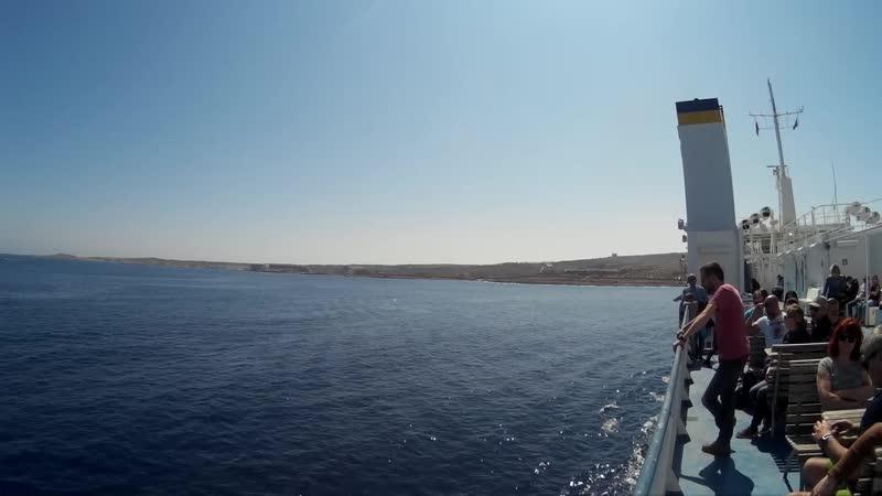 Отправление парома о. Мальта о. Гозо