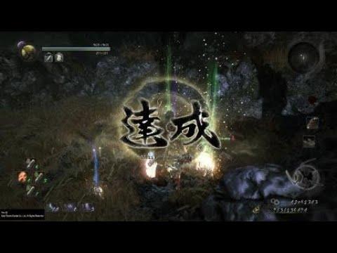 NIOH Sarutobi vs Hayabusa TONFAS Way of the Nioh No living weapon No onmyo No ninjutsu NO DAMAGE