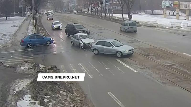 ДТП на Аношкина/Шевченка - 01.02.19