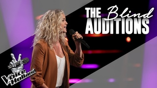 Patricia van Haastrecht – Rise Up | The voice of Holland | The Blind Auditions | Seizoen 9