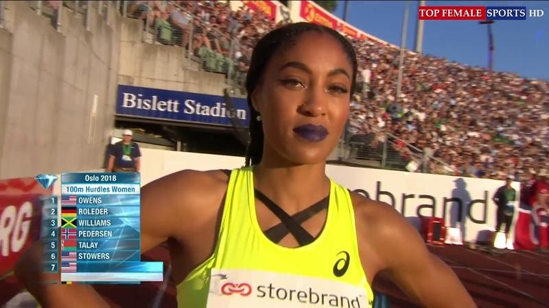 2018-06-07 - 100m Hurdles - IAAF Diamond League - Oslo