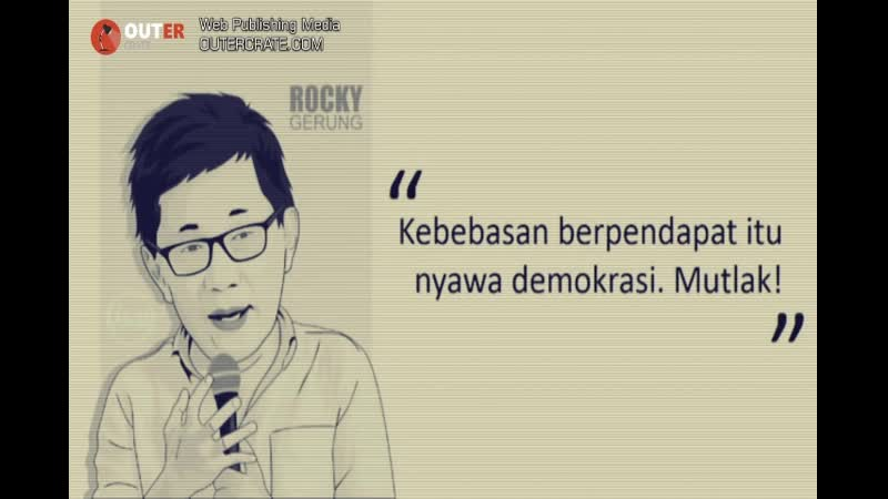 Kompilasi Kutipan Rocky Gerung