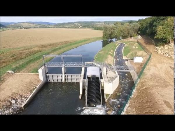 MVE Čoltovo screw hydro turbine