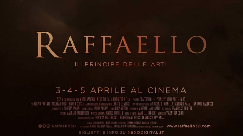 Рафаэль: Принц искусства / Raffaello: Il Principe delle Arti (2017) Nexo Digital