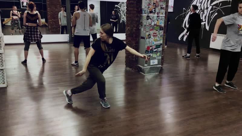 Томские танцоры / Женя / Hip-hop freestyle в Skillz school