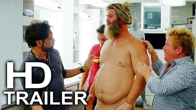 AVENGERS 4 ENDGAME Gag Reel Funny Bloopers Behind The Scenes Trailer (2019) Superhero Movie HD