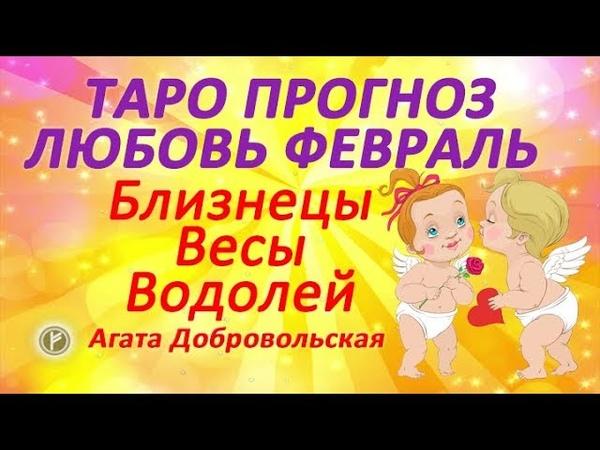 Таро прогноз Февраль 2019 Любовь и отношения Близнецы Весы водолей
