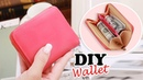 DIY PURSE WALLET TUTORIAL Cute Red Zipper Pouch