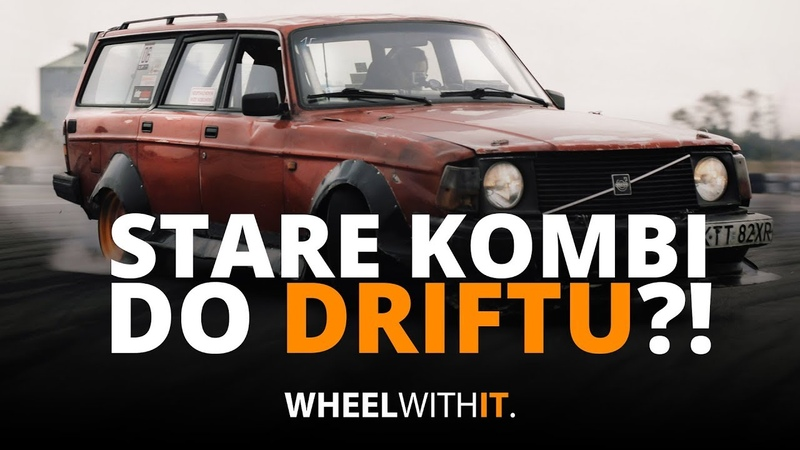 Drift Cegła - Volvo 240 KOMBI do driftu