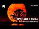 Лунное затмение 27 июля 2018. Самое продолжительное полное затмение века.