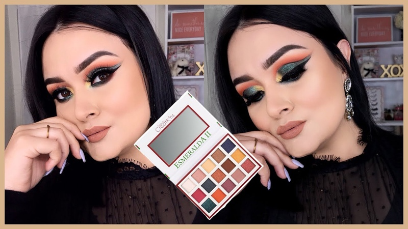 Maquillaje Cut Crease Con Esmeralda II De Beauty Creations Monika Sanchez