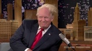 Jimmy Fallon rips off some of Donald Trump's Hair