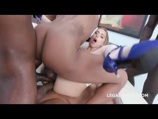 Kira thorn russian, anal, gape, interracial, dap, gangbang, tap, anal creampie, porn, порно