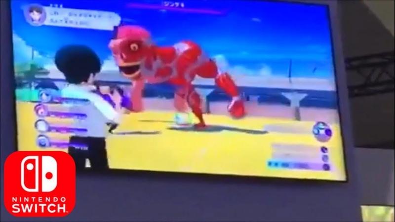 Yokai Watch 4 - Debut Gameplay Off Screen TGS 2018 Nintendo Switch HD