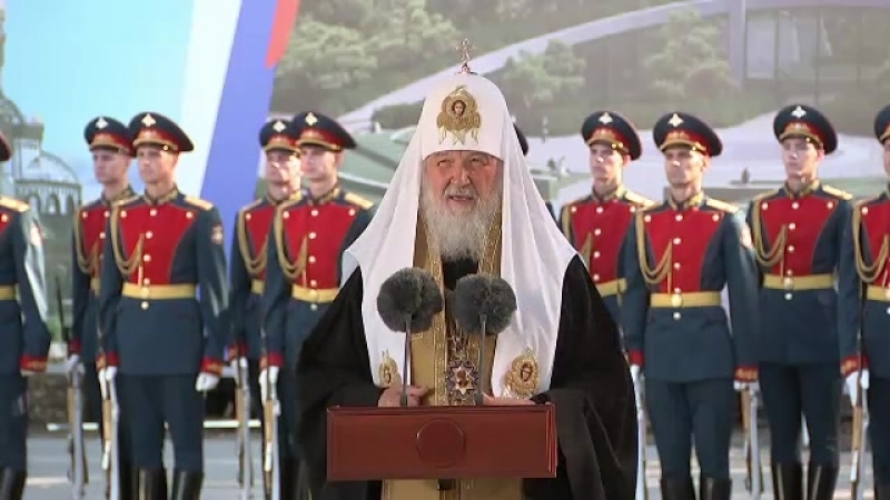 Посещение военно-патриотического парка «Патриот»