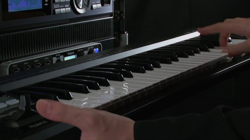 A-88A-49 MIDI Keyboard Controller Overview - Roland Connect Sept. 2012