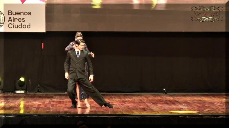 Mundial de Tango 2017 Campeones mundiales Axel Arakaki, Agostina Tarchini