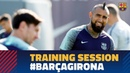 Goals of every type in Friday's training session