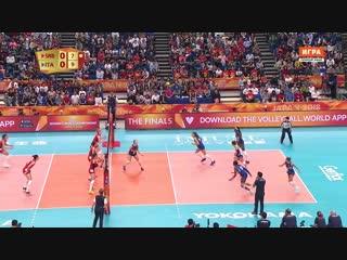 20.10.2018. 13:35 - Волейбол. Чемпионат мира. Женщины. Финал. Сербия - Италия