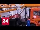 Жар-птица на кране: Ивановца расписали под Палех - Россия 24