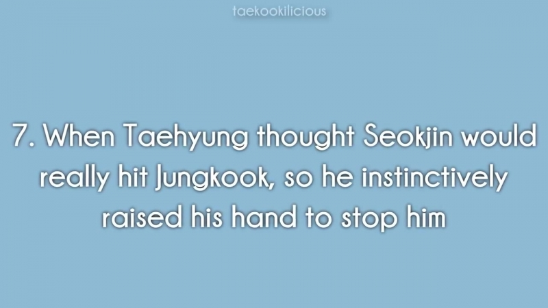 How Taehyung Protects Jungkook -- Taekook-VKook Evidence