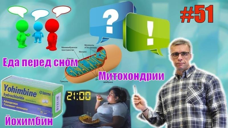 Еда перед сном Накачать верх и низ груди Митохондрии Проблемы с давлением Йохимбин Ответы 51